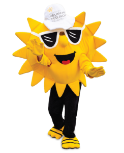 Sunny, the AMRF's mascot