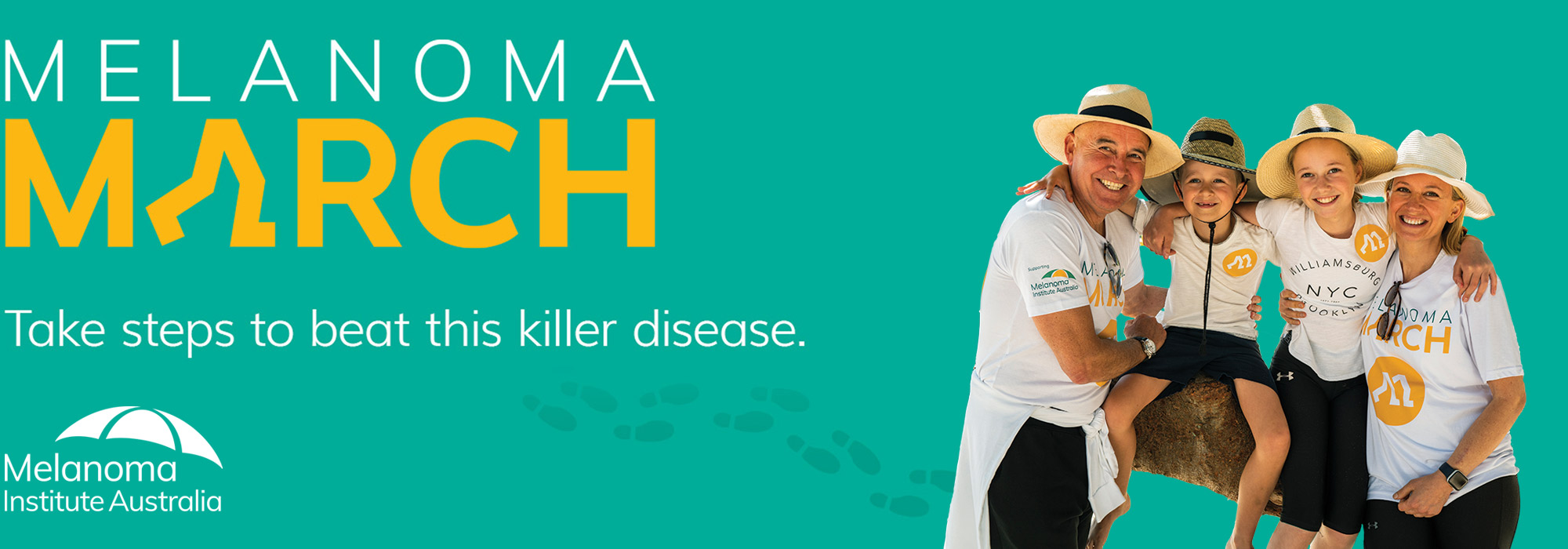 Melanoma March | Take steps to beat this killer disease | Melanoma Institute Australia