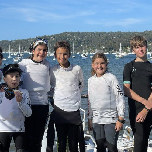 AMRF at Manly Junior National Sailing Championships